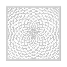 SA108 Spiral Stencil