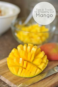 Tips and tricks to properly cut a mango - and three yummy mango recipes too!