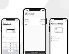 E-Commerce Mobile Checkout Ios App Design, 2020 Design, Mit License, Mobile App Templates, Build An App, Simple App, Iphone Mobile, Best Iphone, App Development