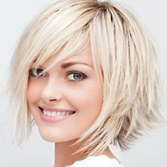Stupendous Bobs Sweet And Hairstyles For Thin Hair On Pinterest Hairstyles For Women Draintrainus