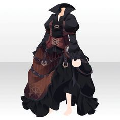 Rasoir Suspicious|@games -アットゲームズ- Anime Outfits, Cool Outfits, Steampunk Clothing, Steampunk Outfits, Cat Anime, Chibi Hair, Cute Games, Retro Pop, Neutral Outfit