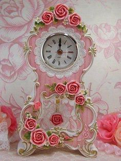 Tiny Roses.......Shabby Chic