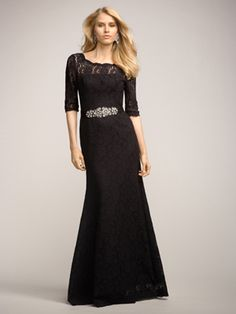 Omg love this for my bridesmaids- not the asymmetrical side but the sleeve length, cut, and color.