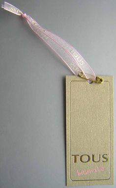 Etiquetas colgantes rosa