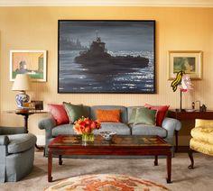 Eclectic Living Room in US by Jayne Design Studio