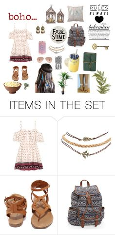 """boho ☮"" by maddiehook ❤ liked on Polyvore featuring art"