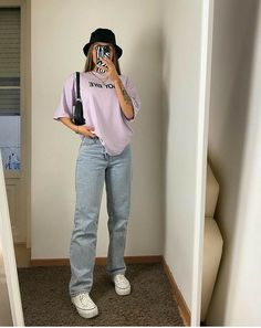 Indie Outfits, Teen Fashion Outfits, Retro Outfits, Cute Casual Outfits, Vintage Outfits, Edgy Outfits, Tomboy Fashion, Streetwear Fashion, Mode Hipster