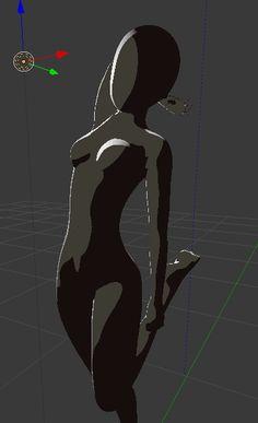 アニメっぽいリムライトの作り方【3DCG(Blender)で日本のアニメ的な表現をする方法まとめ】:プチ3DCGモデラーの毎日モデリング - ブロマガ Character Modeling, 3d Character, Character Reference, Face Topology, S Letter Logo, Anime Toon, Unity Games, 3d Mesh, 3d Tutorial