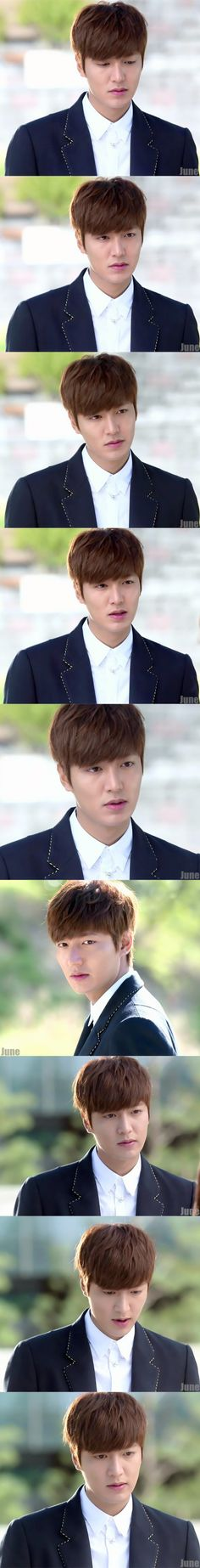 Lee Min Ho as Kim Tan...loved his puppy faces in The Heirs