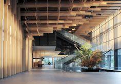 Kengo Kuma Associates completed new hotel in Japan