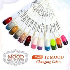 New Mood Gel Polish Colors By Lechat