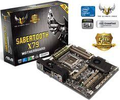 Asus-SABERTOOTH-X79-Socket-2011-Motherboard-i7-w-PCIe-3-0-Quad-GPU-SATA3-USB-3