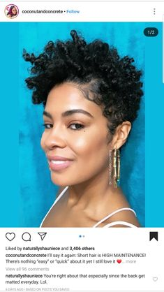 Short Bobs For Black Women Mid Length Hairstyles For Black Women Ponytail Cut 20190517 is part of Short natural haircuts - Short Natural Haircuts, Natural Hair Cuts, Natural Hair Styles For Black Women, Curly Hair Cuts, Short Curly Hair, Short Hair Cuts, Curly Hair Styles, Tapered Natural Hairstyles, 4c Hair