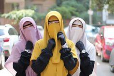 Hijab Evening Dress, Evening Dresses, Niqab Fashion, Face Veil, Hijab Niqab, Muslim, Baby Car Seats, Feminine, Veils
