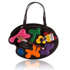 Authentic Braccialini Tua Paint Glossy Black Handbag B7008 New Collection | eBay