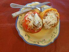 Vegetarian Quinoa Italian Stuffed Peppers–Crock Pot Challenge #2