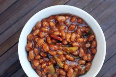 The recipe I'm about to give you is dangerously delicious. If you like baked beans, you'll LOVE these. I made them for the 4th of July and they were a hit, even with my most-of-the-time-vegetarian friend. Thanks to my mom's sisters who introduced me to this baked beans recipe to begin with. I have