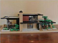 Dr. Z's Contemporary Retreat   ReBrick   From LEGO Fan To LEGO Fan