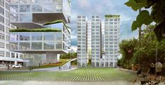Brooklyn Bridge Park: O que o projeto de O'Neill McVoy + NVDA diz sobre o estado atual da arquitetura,Edificação e Praça. Imagem Cortesia de O'Neill McVoy Architects