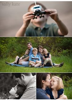 family of five photography poses