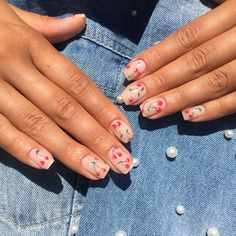 IG: beagabyy_nails Clay Paint, Nails, Beauty, Finger Nails, Ongles, Beauty Illustration, Nail, Nail Manicure