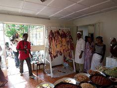 Finnish-Ethiopian Wedding - Buffet     Please check out our creative wedding favor ideas at www.CreativeWeddingStyle.com