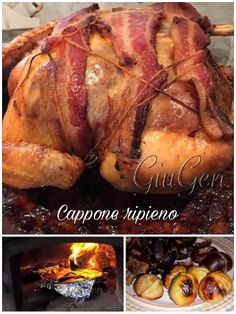 Cappone ripieno Food And Drink, Chicken, Recipes, Cubs, Kai