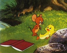 """Tom and Jerry """"Downhearted Duckling"""""""