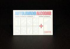 Tarjetas promocionales de Autolavado Alcodar.