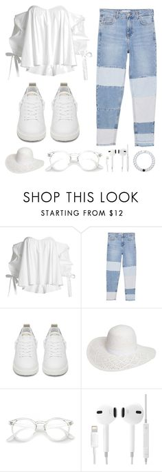 """""""Untitled #45"""" by silkandstilettos ❤ liked on Polyvore featuring Caroline Constas, MANGO, Golden Goose, Dorothy Perkins and Lokai"""
