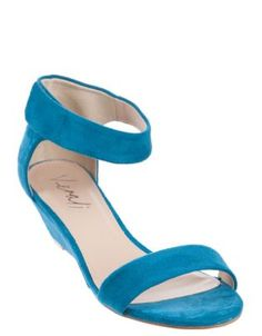 a72d569a9300e0 Verali - Kylie - Mid-Low Heel Sandals (Teal Micro) Shoes