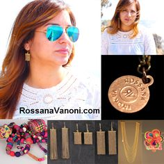 Worldwide Giveaway! $95 Jewelry Giveaway from Rossana Vanoni: Enter for a chance to win! http://rossanavanoni.com/958-2. You're always on the search for gorgeous new jewelry, and now you've discovered Rossana Vanoni, you know the sparkly Spring jewels are in need of a fab home.