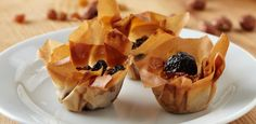 The cutest and most delicious dessert: Phyllo Pastry Cups with Lemon Cream