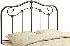 Monarch Specialties I 2618Q Coffee Queen / Full Size Combo Headboard - Footboard Only
