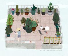 Mama's garden on Behance