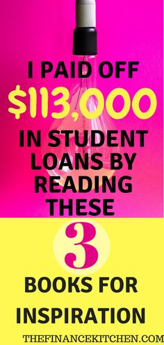 These books helped me on my journey, and I know they will on yours, too! These are the best finance books around packed with knowledge to motivate you to the debt-free life you dream of! #studentloans #debt #motivation #financialfreedom #money