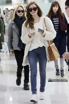 SNSD Jessica's Airport Fashion ♥