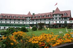 Gardens at the Algonquin Resort, St. Andrews By-the-Sea, New Brunswick..