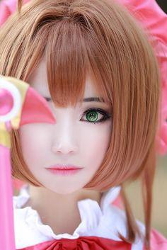 LIHA(LIHA) Sakura Kinomoto Cosplay Photo - WorldCosplay