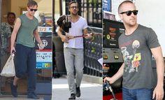 Estilo Ryan Gosling, Mens Sunglasses, Sporty, Style, Fashion, Hobo Style, Actor, Moda