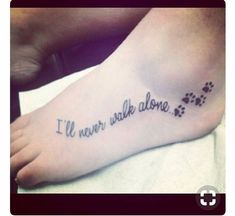 This Would Be Cute To Add My Foot Tattoo With The Kids Prints