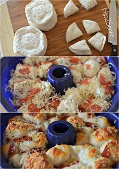 How to make pull apart pizza with biscuits Hip2Save