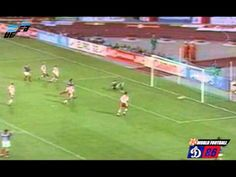Denmark 2 France 1 in 1992 in Malmö. Jean-Pierre Papin got France back into it with a goal on 60 minutes in Group A at Euro '92. 1-1.