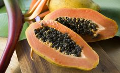 Health Benefits Of Papaya, 'Fruit Of The Angels' Healthy Fruits, Healthy Drinks, Papaya Health Benefits, Fruit Cartoon, Fitness Nutrition, Health Diet, Clean Eating, Snack Recipes, Yummy Food