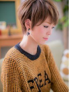 カバーヘアアンドスパ ブリス 浦和店(COVER HAIR&SPA bliss)*+COVER HAIR+*…ツヤ色輝く☆ナチュラルショートb