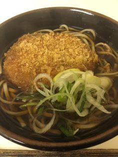 Japanese Croquette Noodle. Koroke Soba コロッケ そば