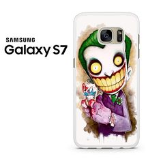 Joker Is The Crazy Cartoon Character Samsung Galaxy S7 Case
