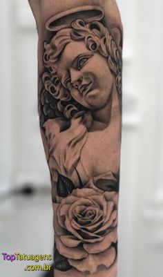Tattoos for men – Tattoos And Left Arm Tattoos, Forarm Tattoos, Cool Forearm Tattoos, Dope Tattoos, Body Art Tattoos, Angel Tattoo Designs, Tattoo Sleeve Designs, Angel Tattoo Men, Rose Tattoos For Men