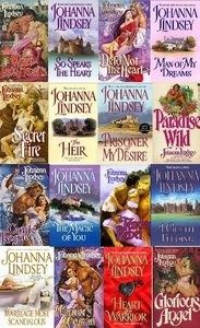 Johanna Lindsey sensual stories by our favorite author especially the Malory series and her book Silver Angel Enjoy!