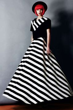 Black & White everywhere ~ Photos of Rumours Magazine 'Marina' (Via: 500px, fashionising)